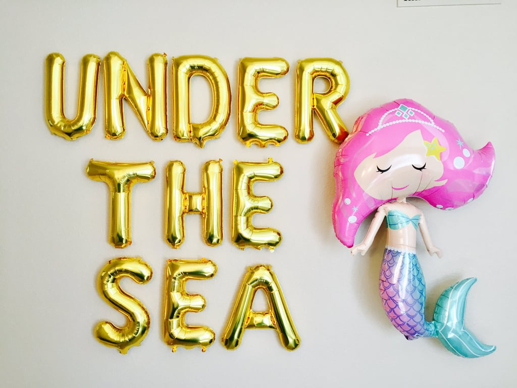 mermaid birthday party decorations popsugar moms