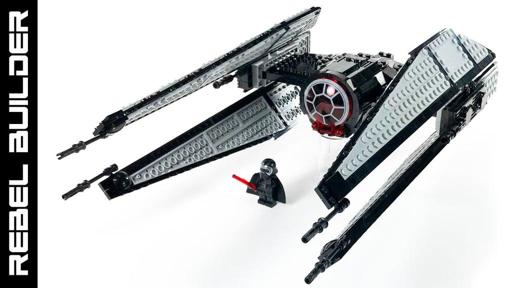 LEGO Star Wars 75179 Kylo Ren's TIE Fighter review ...