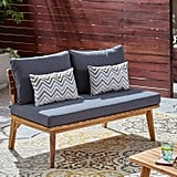 Great Deal Furniture Boyle Outdoor Acacia Wood Loveseat