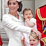 """While George has been described by his father as """"a little monkey,"""" his younger sister is """"ladylike,"""" so it looks like the dynamic between these two siblings will be somewhat different to that of their dad, William, and uncle Harry."""