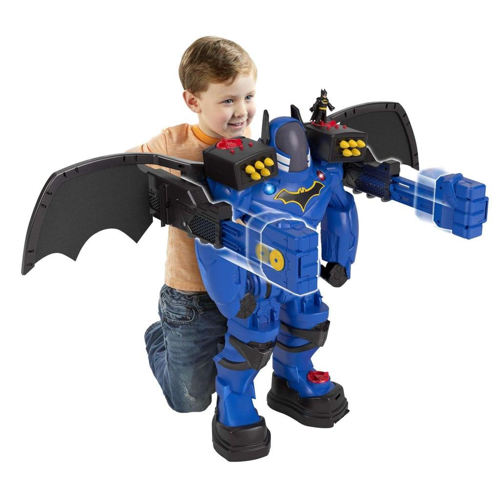 For 3-Year-Olds: Imaginext DC Super Friends Batman Batbot Xtreme