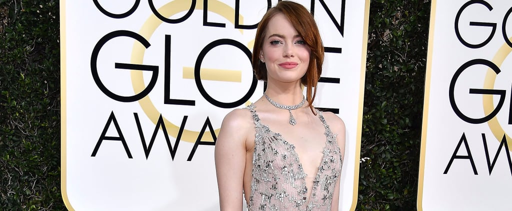 Emma Stone's Golden Globes Dress Has Us Seeing Stars