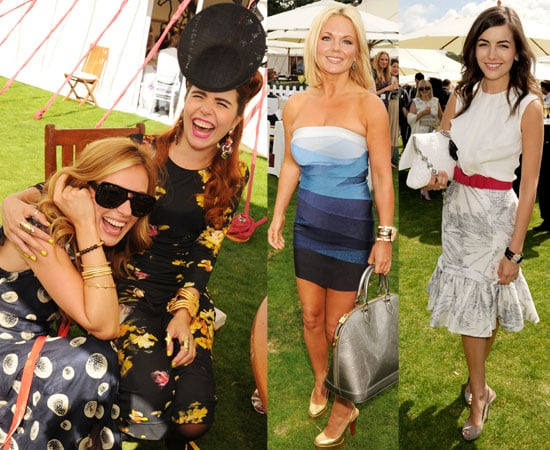 Celebrities at the Cartier International Polo 2010