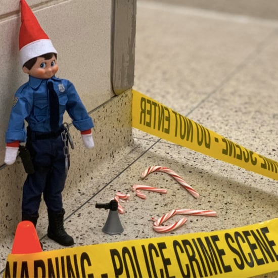 NYPD Police Officer Makes Law & Order Elf on the Shelf