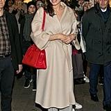 Angelina Jolie Gold Metallic Heels