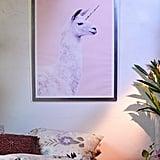 Paul Fuentes Llama Unicorn Art Print
