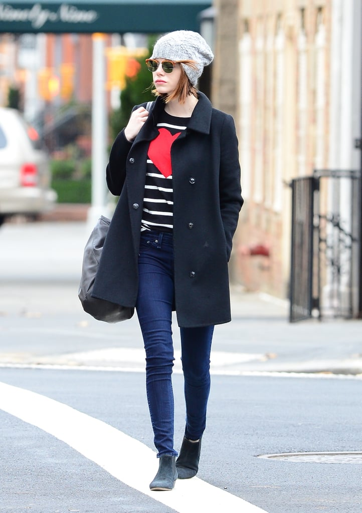 Emma Stone's Perfect Autumn Outfit