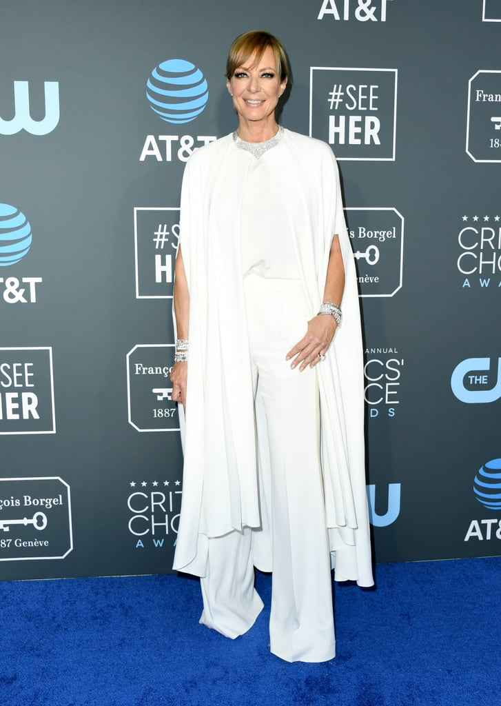 Allison Janney at the 2019 Critics' Choice Awards