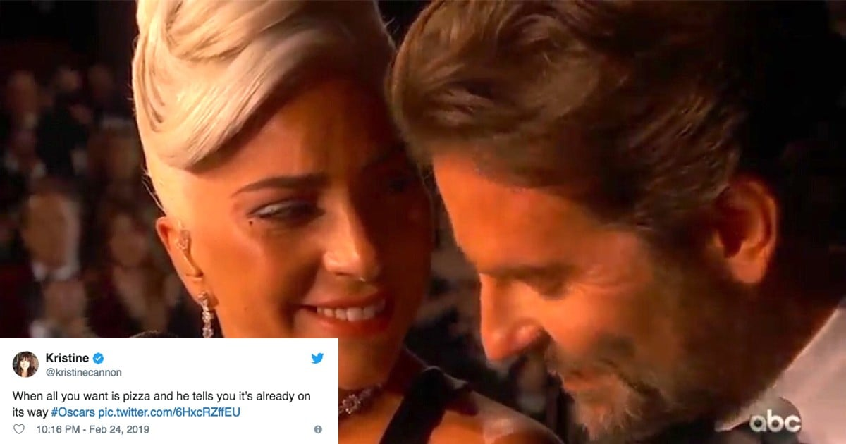 Lady Gaga And Bradley Cooper Quot Shallow Quot Oscars Memes 2019 Popsugar Entertainment