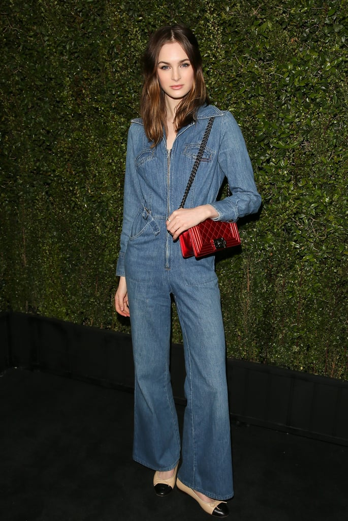 The Denim Jumpsuits and Playsuits Trend