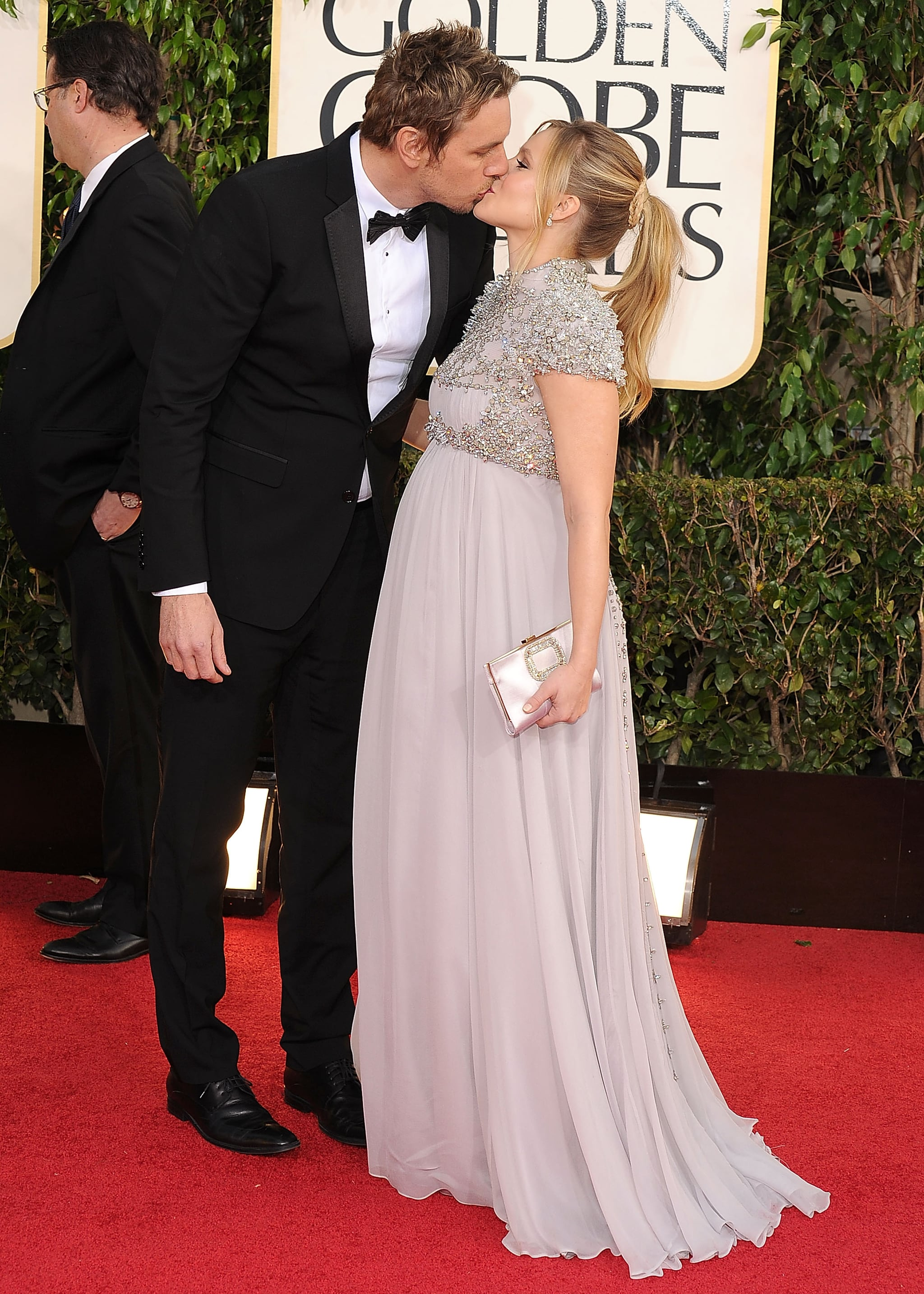 Dax and Kristen locked lips at the 2013 Golden Globes.