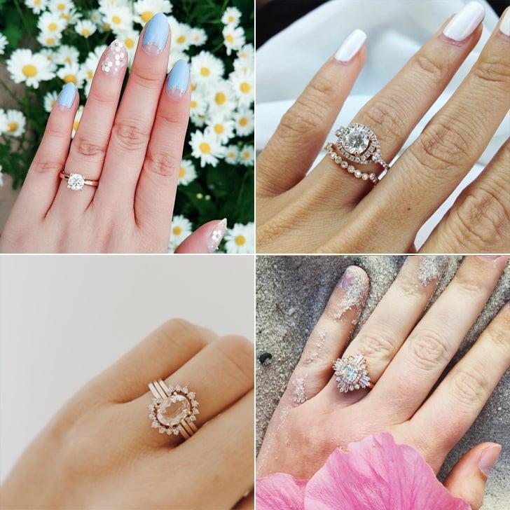 Rose Gold Engagement Ring Photos POPSUGAR Australia Love Sex
