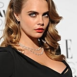 Cara Delevingne's Glamorous Old Hollywood Waves, 2015