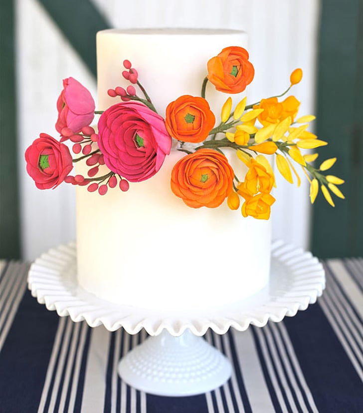 wedding cake simple ideas simple wedding cakes popsugar food 24564