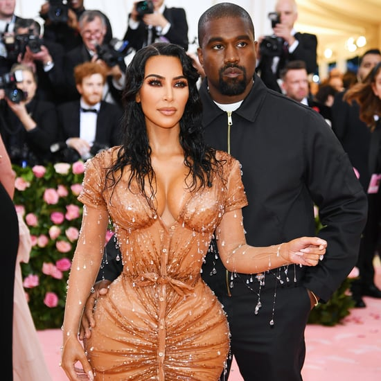 Kim Kardashian and Kanye West's Signature Red Carpet Pose