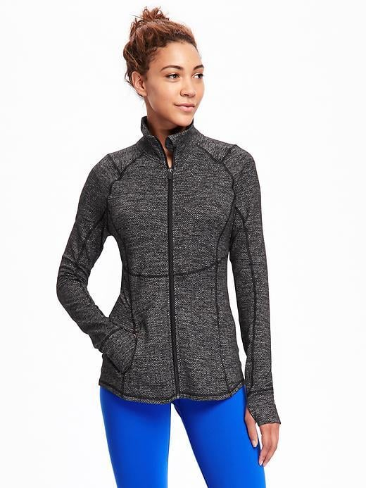 Old Navy Go-Dry Cool Herringbone Compression Jacket