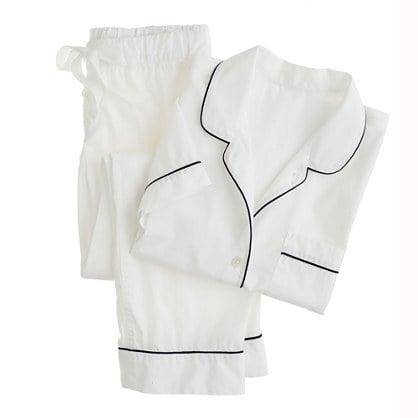 J.Crew Vintage Short-Sleeved Pajama Set