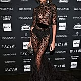 She Chose a Naked Dress For the Harper's Bazaar Icons Party