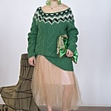 Make a Tulle Skirt Daytime Appropriate With a Knit Sweater