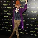 Zac Posen as Willy Wonka