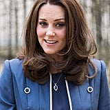 Kate Middleton's Windblown Waves, 2018