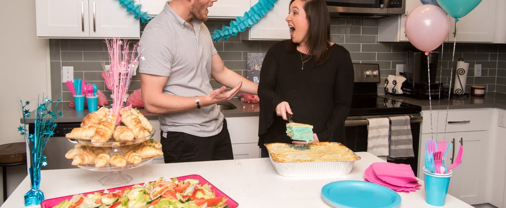 Gender-Reveal Lasagna