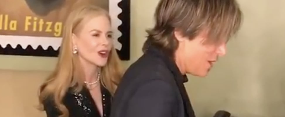 "Nicole Kidman Keith Urban Singing Elton John's ""Your Song"""