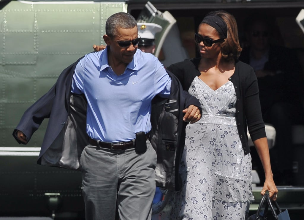 Michelle Obama Holiday Dresses