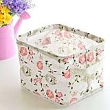 Floral Print Storage Box