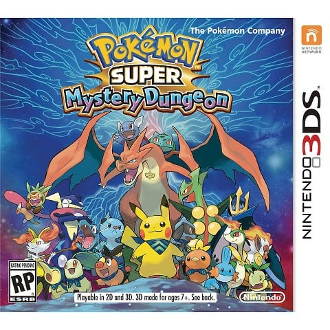 For 6-Year-Olds: Pokémon Super Mystery Dungeon