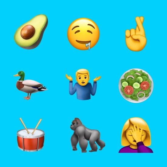 New Emoji iOS 10.2