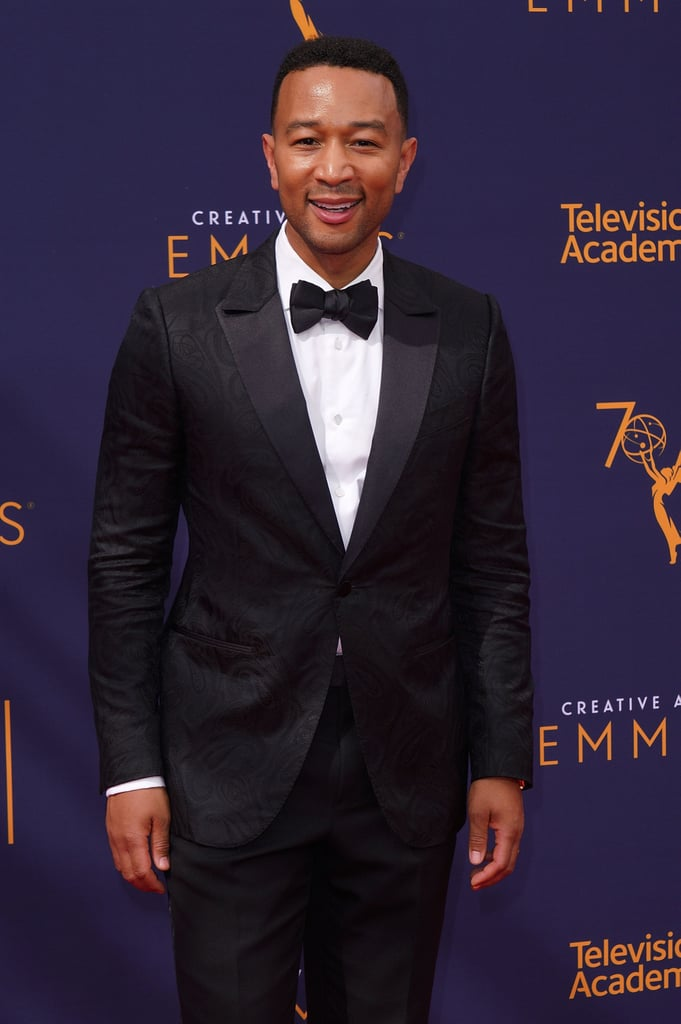 """At the 2018 Creative Arts Emmy Awards on Sept. 9, John Legend officially achieved EGOT status. The 39-year-old singer won an award for Outstanding Variety Special for Jesus Christ Superstar Live!, which he co-produced. Legend's starring role in the televised musical also earned him a nomination for Outstanding Lead Actor in a Limited Series or Movie, which will be announced at the Primetime Emmy Awards on Sept. 17.  Legend's wife, Chrissy Teigen, was in attendance and cheering him on. Prior to his big win, Teigen tweeted, """"If Jesus Christ Superstar wins, john will have his EGOT. And I will make an even uglier cry face,"""" alluding to her now famous expression at the 2015 Golden Globes.  Throughout his prolific career, Legend has received ten Grammys, a Tony for co-producing Jitney in 2017, and an Oscar for his song """"Glory,"""" which appeared in 2014's Selma. He is one of the youngest to join the exclusive club. Frozen and Coco songwriter Robert Lopez previously became the youngest-ever EGOT winner in 2014 when he was 39, Legend's same age.      Related:                                                                                                           The EGOT: 27 Stars Who Are Almost There"""