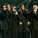 Justin Timberlake was still with the 'N SYNC boys in 2003.