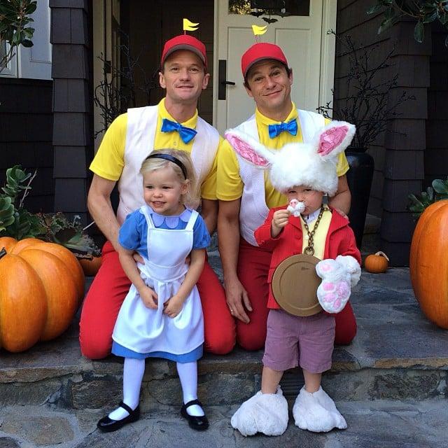 Alice in Wonderland  sc 1 st  Popsugar & Alice in Wonderland | Celebrities Wearing the Same Halloween ...