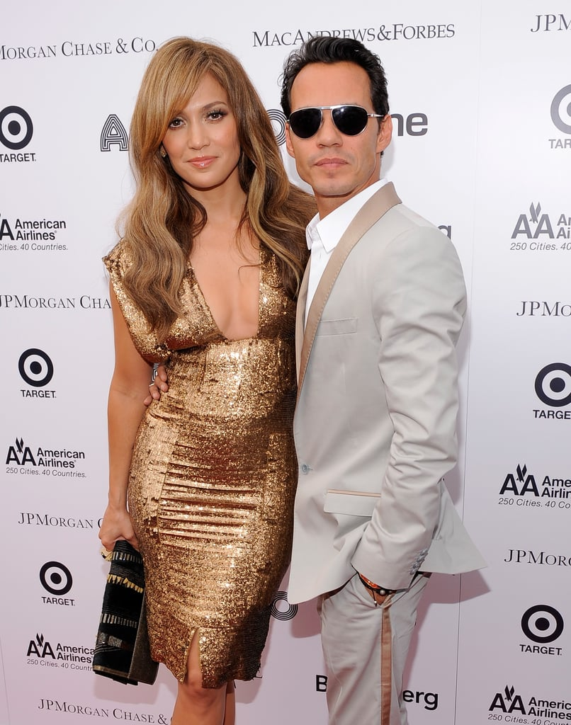 Pictures of Jennifer Lopez and Marc Anthony at the Apollo Awards