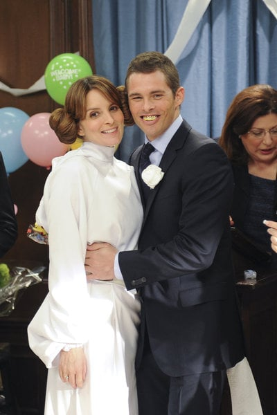 Liz Lemon's Wedding Pictures on 30 Rock