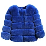 PanDaDa Faux Fox Fur Coat