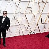 Joaquin Phoenix and Rooney Mara at the 2020 Oscars