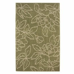 Home Floral Sketch Area Rug 5' x 8' ($130)