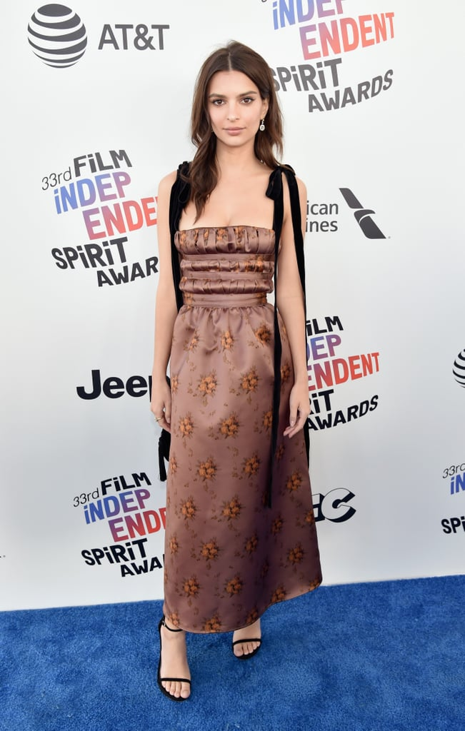 Spirit Awards Red Carpet Dresses 2018