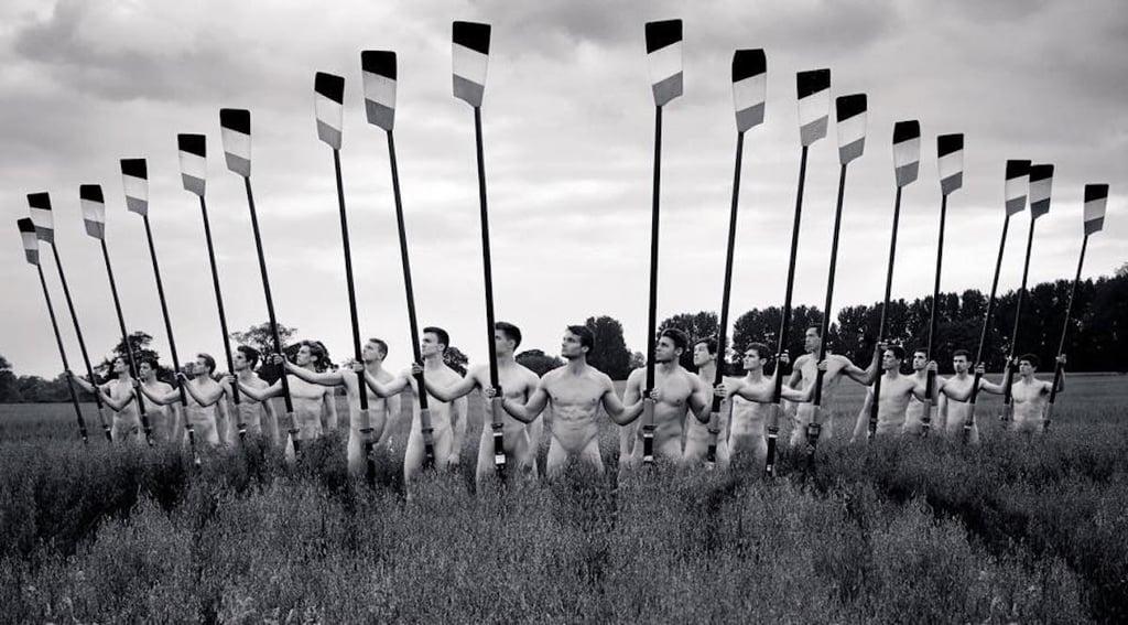 Warwick Rowers Nude Calendar 2016