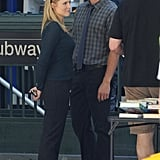 Kristen Bell on Veronica Mars Set Pictures