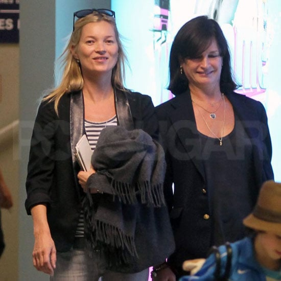 Kate Moss Pictures in Paris After The Kills Tour