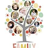 My Funny Family Tree Custom Photo Art Print
