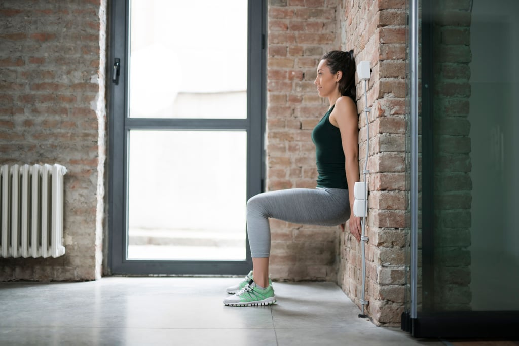 These 4 Wall Sit Variations Are the Ultimate Exercises to Target Your Thighs and Butt