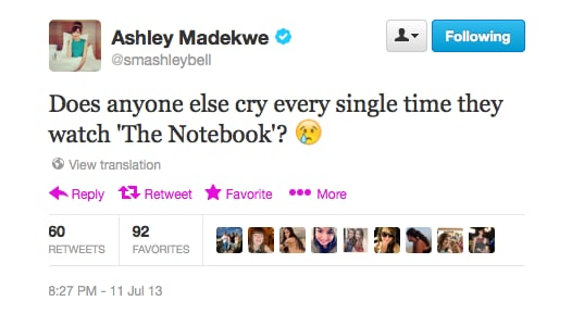 We think majority of the population is with you on that one, Ashley.