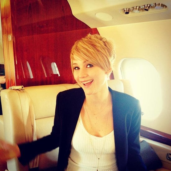 """Jennifer talked about her pixie haircut during a 2013 Q&A, joking around as usual: """"It grew to an awkward-gross length, and I kept putting it back in a bun, and I was like 'I don't want to do this,' so I just cut it off. It couldn't get any uglier."""" Source: Facebook user Jennifer Lawrence"""