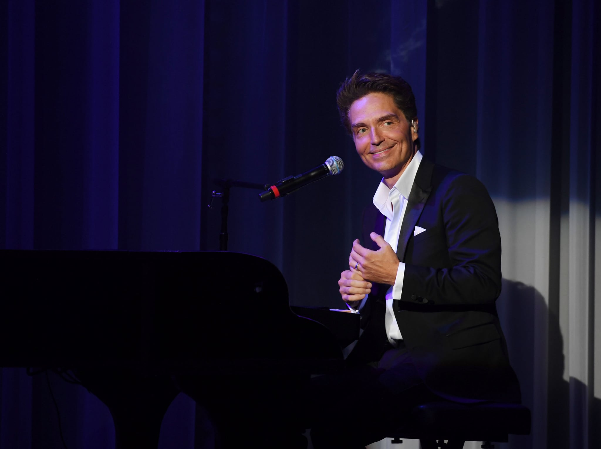 LAS VEGAS, NV - AUGUST 15:  Richard Marx performs during his debut of