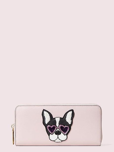Sylvia Francois Slim Continental Wallet