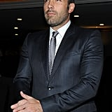 Ben Affleck Suits Up to Support a Good Cause